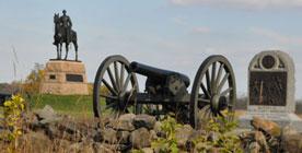 Gettysburg Statue & Cannon